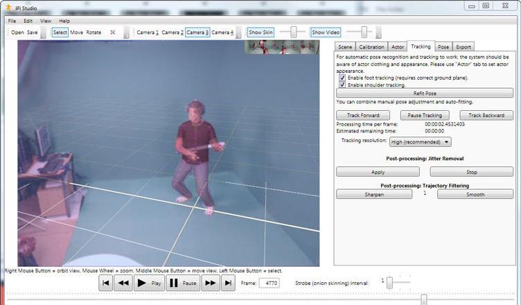iPi Desktop Motion Capture test