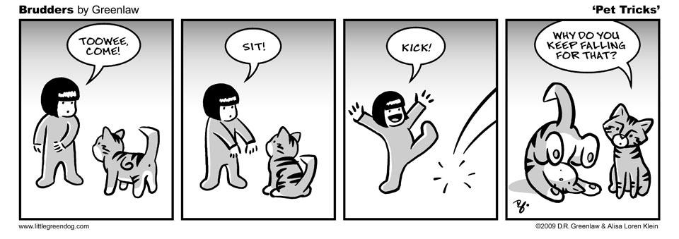 Brudders 026 Pet Tricks
