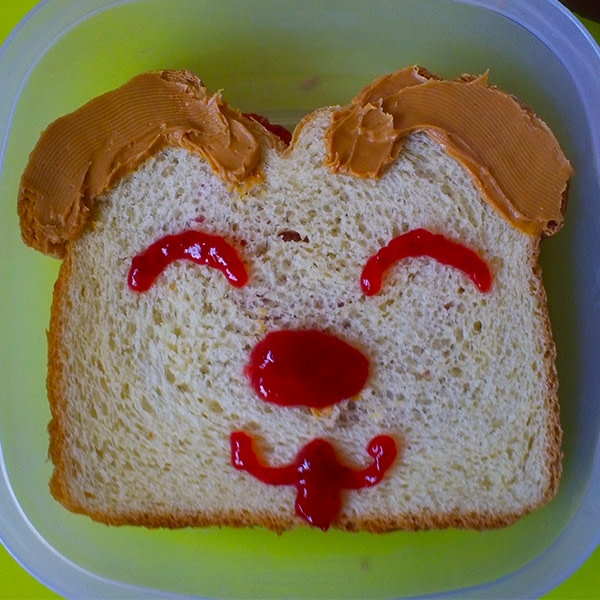 Sandwich that looks like another doggie