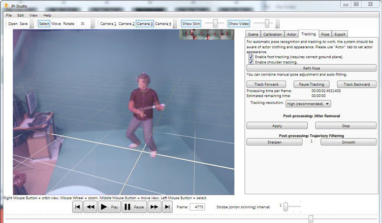 iPi Desktop Motion Capture test
